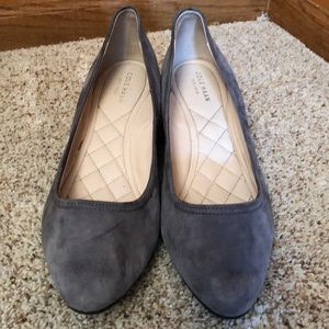 Cute Cole Haan suede shoes. Size 8.5.